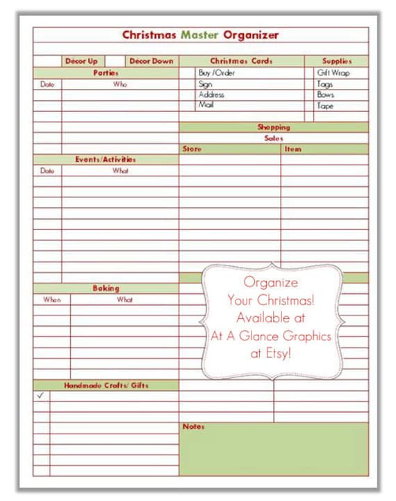 todo list form christmas