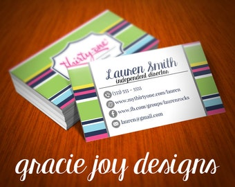 Thirty-One Business Card | Business Card | Direct Sales Business Card | Direct Sales Printable | Thirty-One Independent Consultant Business