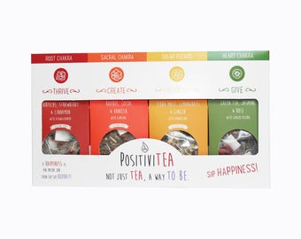 Lower Chakras Herbal Tea Gift Set - Herbal Life - Herbal Tea - Gift Box