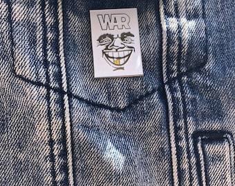 WAR Enamel pin