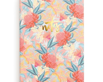 Wattle 6x8 Notebook