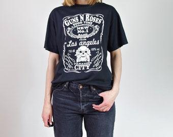 Vtg Guns n Roses new band from LA t-shirt