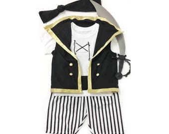 Pirates costume - Pirate Birthday Party - Cruise Pirate Night - Pirate -  Monochrome Pirate - Costume - Pirate Outfit - Pirate theme Party