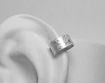 POST Pierced Cartilage Helix Hoop Hex piercing Conch Earring Body Jewelry Upper Ear Conch Tragus Rook Body Piercing Silver Floral MCSSFLP