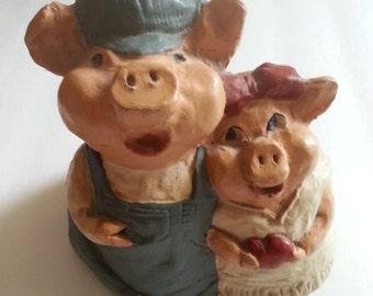 Ike & Sandy Spillman Pigs (1976/1987)