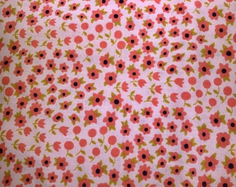 Little pink flowers. Felicity.  Timeless Treasures.  Quilting Cotton Fabric.  Choose your cut.
