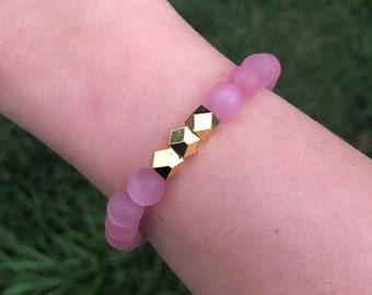 Tickled Pink bracelet