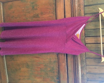 VTG Bright Fuchsia Spagghetti Strap Dress (S)