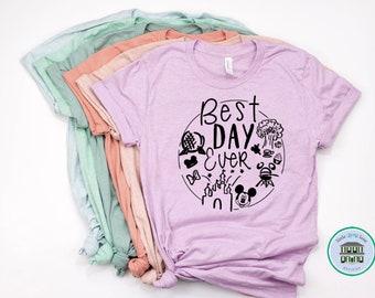 Best Day Ever Disney World | Disney Shirts | Disney Shirts for Women | Disney World Shirt | Disney Shirt | Magic Kingdom Shirt | Disney