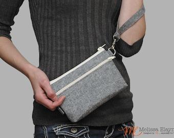 Wristlet for iPhone 7 Plus / Galaxy Note Wristlet Clutch, Large Wrist Wallet