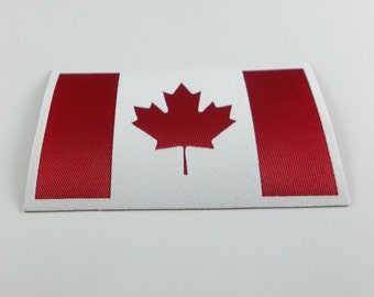 Canadian Flag  Appliqué Patch/Iron-On Or Sew-ON