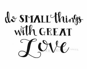 Love Printable, Love Quote, Inspirational Print, Motivational Print, Home Decor, Hand Lettered, Instant Download