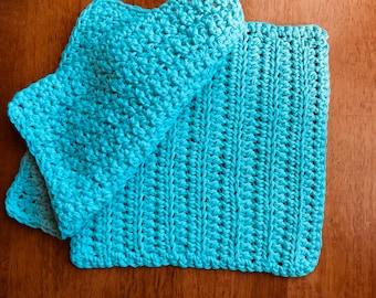 Handmade 100% Cotton Wash/Dish Cloth - 8x8