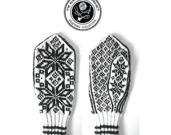 Bergen Mittens Knitting Pattern PDF Download