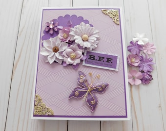 Friendship Mini Album/ Friendship  Scrapbook Album/ Friendship Mini Scrapbook Album