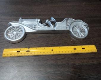 Vintage Cast Aluminum Old Car Wall Hanging