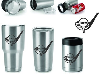 Golf Club Tumbler FREE Personalization