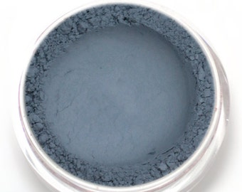 "Matte Blue Gray Eyeshadow - ""Dusk"" - Vegan Mineral Makeup"