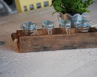 Barn wood storage box / Barn wood box / reclaimed wood