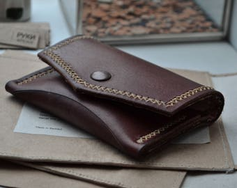 Wallet+card holder #2 whiskey color