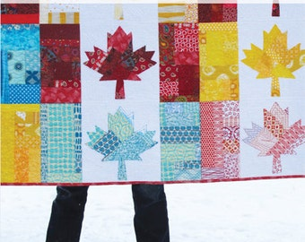 Oh Canada Quilt Pattern - Printed