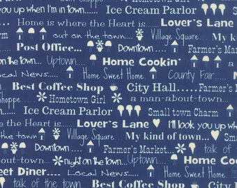 Hometown Girl by Pat Sloan - (43061-20) Quilting Fabric by 1 Yard Increments
