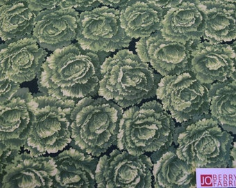 Lettuce Fabric,  by Timeless Treasures, Quilt or Craft Fabric, Fabric by the Yard
