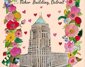Fisher building Detroit