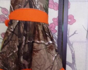 Camo dress - custom