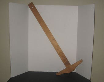"Vintage 32"" T-Square, Post brand. Wooden drawing tool. Drafting, architectural tool. Great decor"