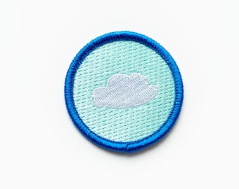 Iron-on Cloud Patch