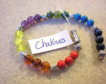 BRACELET chakras in the colors of the India KIT: 3 options