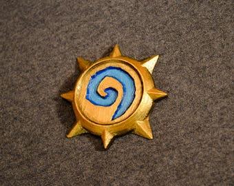 Hearthstone, HS, HS Emblem, Hearthstone Pin