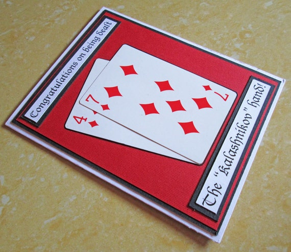 Casino birthday card poker birthday card 21st birthday card like this item bookmarktalkfo Gallery