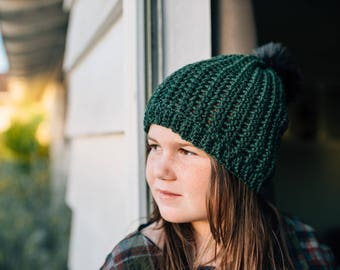 Instant Download, Lucas Beanie Hat Pattern, PDF FIle