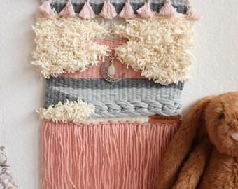 Magic Moon Wall Weaving