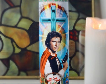 Han Solo Celebrity Prayer Candle - Harrison Ford - Star Wars