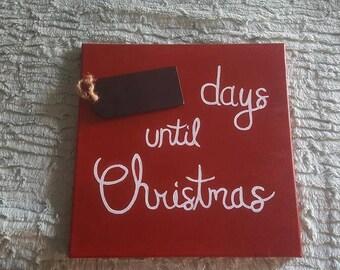 Christmas Countdown Painting