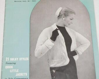 Vintage Knitting Sweater Patterns