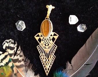 Sacred geometry >>> Handmade Pendant - Unic piece
