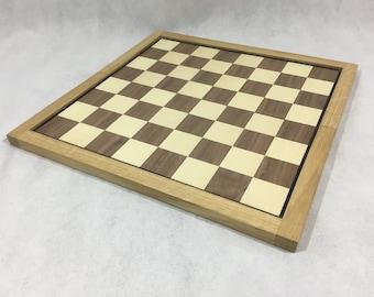 A Beautifully Hand Made Foldable Oak Chess Board