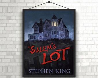 Salem's Lot Horror Book Cover Poster