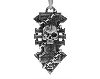 Handmade Insignia pendant inspired by game. Inquisition Insignia pendant.