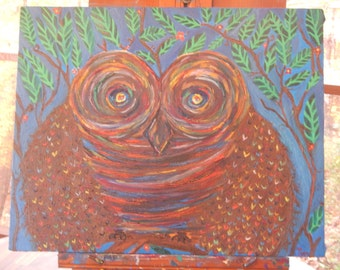 The Painted Owl