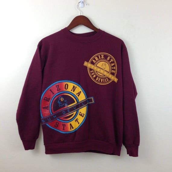 Vintage 90s Arizona State University Sweatshirt TVdC54 ... 55b53fdad91
