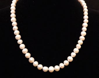 White River pearls necklace