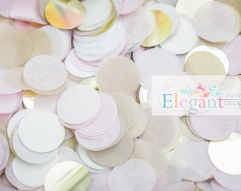 TISSUE PAPER CONFETTI/ wedding confetti / birthday/ table confetti / confetti toss/ ballon confetti/ Bridal Shower/ Baby Shower/ Weddings