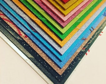 3mm glitter acrylic sheet 300 x 200mm