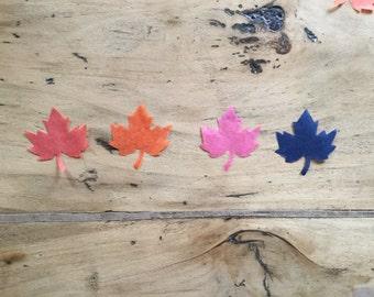 Maple Leaf confetti