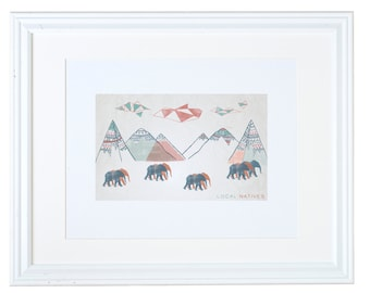 Local Natives Art Print